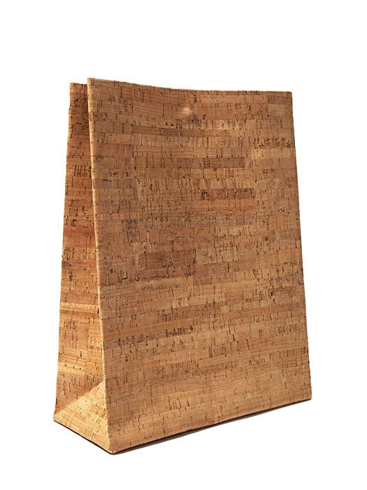 ADAISM Saco De Papel Large Bag - Cork skin