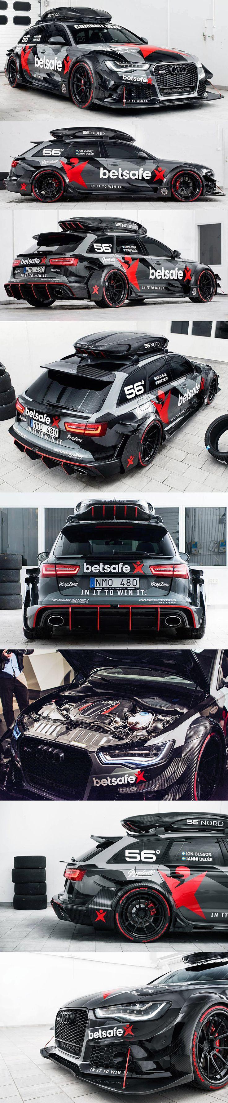 Audi RS6 DTMStertman pour partir en vacances