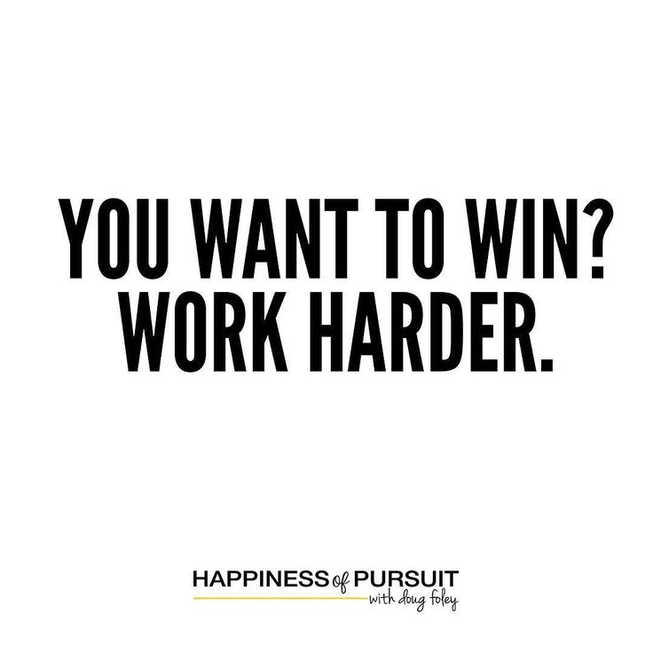 You want to win? Work harder.  #mondaymotivation #entrepreneur #hustle #instadaily #instaquote . Talent will only get you so far. What you do with that talent and how you perfect it is the difference between making the playoffs and winning the championship. . One of the greatest examples of this and if made a profound impact on me the first time I heard it was from Jeff Hoffman founder of Priceline.com. . He was helping spot Evander Holyfield. During the workout he would do 300 reps of the…