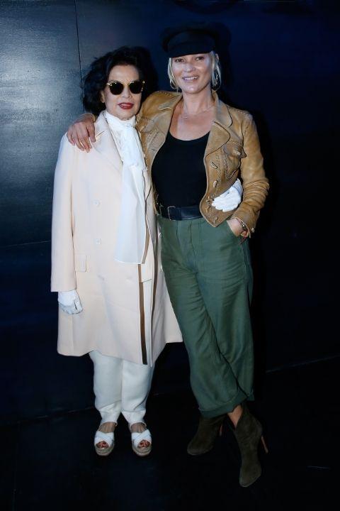 Dior Fall 2017 Fashion Show Semana da Moda de Paris - Rihanna, Kate Moss, Bianca Jagger no Dior Fall 2017 Show