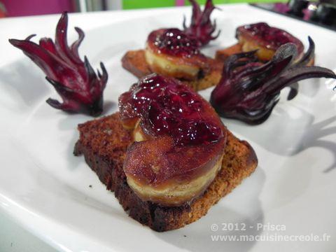 Cuisine antillaise foie gras groseilles pays 2 douceurs - Cuisine antillaise guadeloupe ...