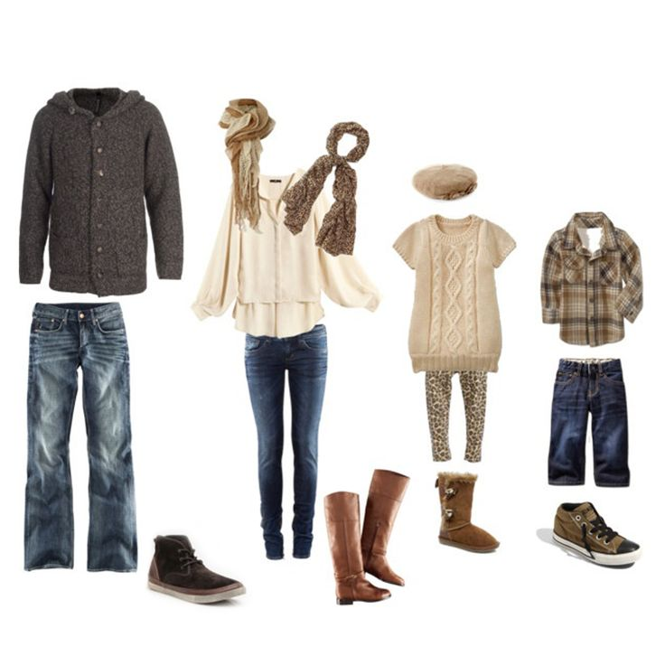 Fall Family Photo Ideas What To Wear 17 Best images about W...