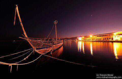 Argo - Ancient greek ship - Volos city