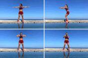 """Muchas veces nos olvidamos de nuestra espalda solo porque no la vemos y no nos damos cuenta cómo la arqueamos privando los músculos del ejercicio físico. Como resultado, se vuelven poco activos y aparecen """"llantitas"""" que no adornan nuestra figura. Estos 4 ejercicios van a ayudarte a reducir los"""