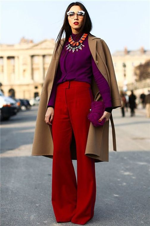 inspiring color combinations for fall and winter via alreadypretty.com | plum/wine/purple, maroon/burgundy, camel/tan/beige