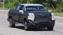 GMC Sierra 1500 Spied Testing With Diesel Powertrain Components :  The GMC Sierra and Chevrolet Silverado pickups have a new generation on the way for the 2019 model year and a new batch of spy shots reveal the upgraded Sierra under development with a new diesel engine.  These photos show underneath the truck which reveals the tank for the exhaust after-treatment fluid and the diesel particulate filter. Unfortunately the exact powerplant remains a mystery. The most likely possibilities for…