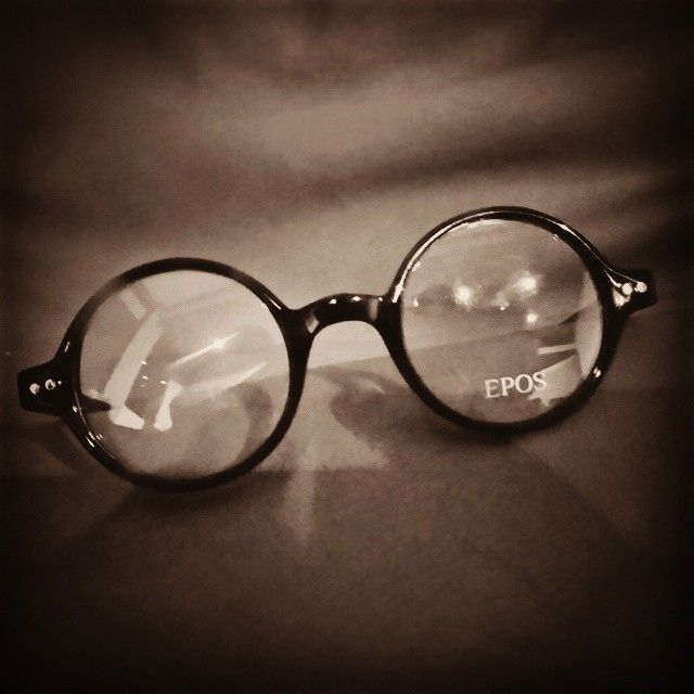Round glasses are always in style! An epic pic by Aly on Instagram! #epos #eyewear