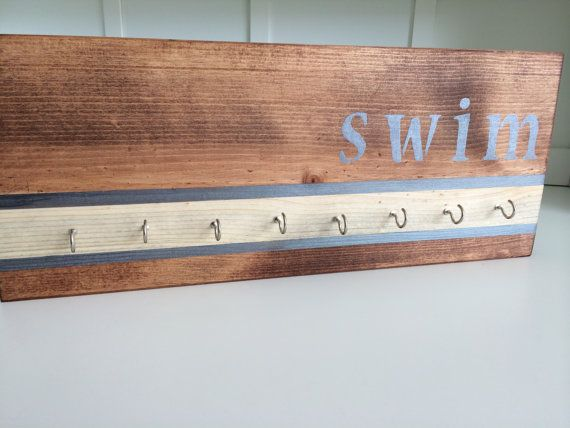Swim Award Ribbon Holder by FreestyleMom on Etsy, $26.99