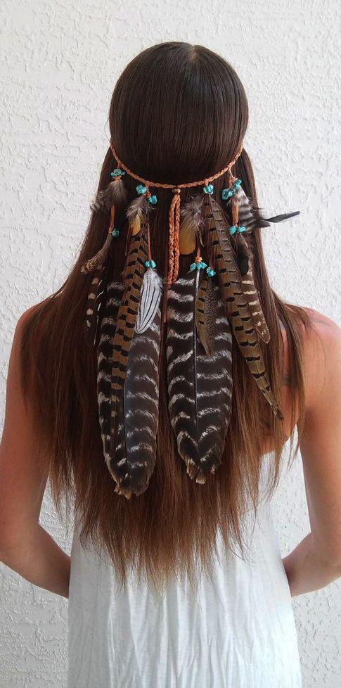 boho feathers