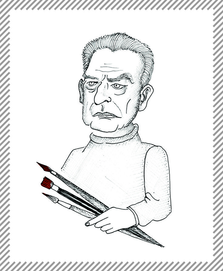 Emilio Tadini, 1927-2002, pittore, scultore e poeta. L'esordio letterario è su il Politecnico, dove pubblicò saggi, romanzi e poesie. Parallelamente nacque la passione per la pittura, con la prima esposizione delle opere a Venezia nel 1961. Fu critico d'arte per il Corriere della sera e presidente dell'Accademia di belle arti di Brera. #AlbumMilano