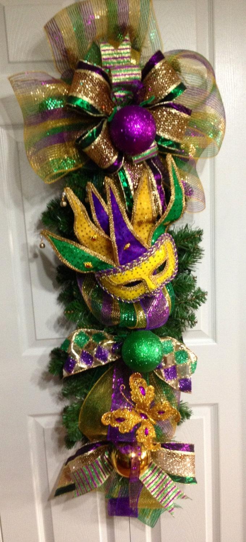 78 best holidays mardi gras tree wreaths images on pinterest mardi gras swag amipublicfo Images