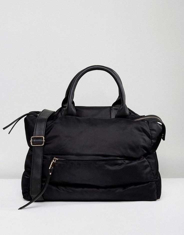 Get this New Look's shoulder bag now! Click for more details. Worldwide shipping. New Look Padded Tote Bag - Black: Bag by New Look, Padded fabric outer, Fully lined, Twin handles, Adjustable strap, Zip top closure, External pocket, Interior zip pocket, Do not wash, 100% Polyester, H: 24cm/9 W: 41cm/16 D: 15cm/6. Transforming the coolest looks straight from the catwalk into wardrobe staples, New Look joins the ASOS round up of great British high street brands. Get it or regret it with its…