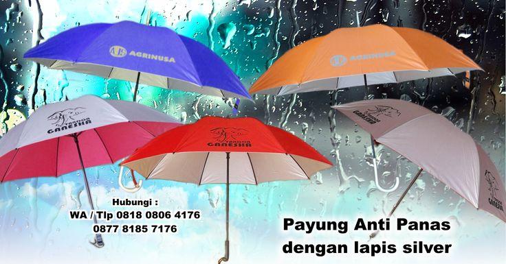 Jual Payung Anti Panas dengan lapis silver
