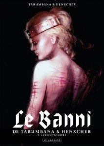 Tarumbana avec Le Banni en dédicace chez Planètes Interdites à Montpellier - http://www.ligneclaire.info/le-banni-tome-2-la-reine-pourpre-le-lombard-11768.html