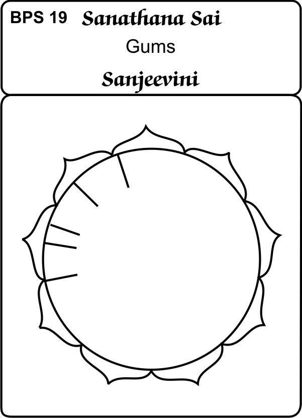 Sanjeevini Healing Card-Gums