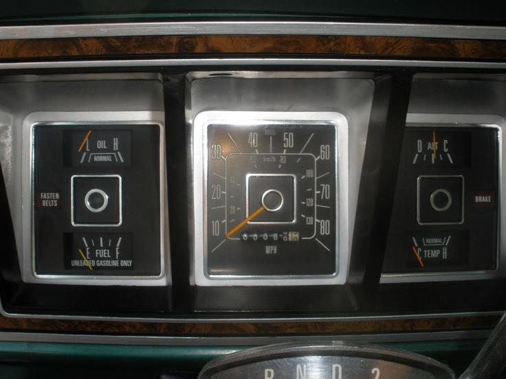 1978 Ford Bronco Ranger XLT Interior Drivers Side