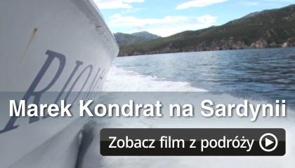 Marek Kondrat na Sardynii - zapraszamy do oglądania na www.marekkondrat.pl