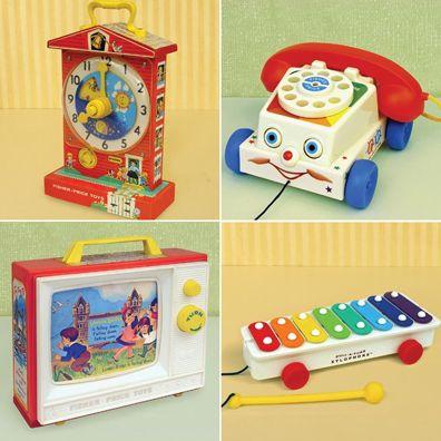 Vintage Toddler Toys