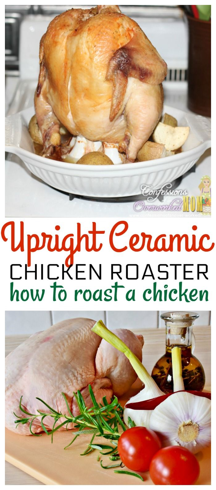 Upright Chicken Roaster from Reco for the Juciest Chicken Ever via @ellenblogs