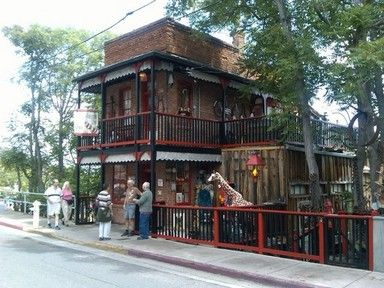 "Jerome, Arizona. House of Joy. This is an actual turn of the century ""house of ill repute."""