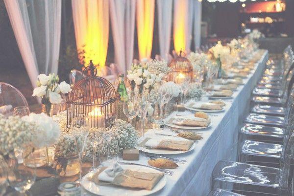 magnifique table rustique chic...