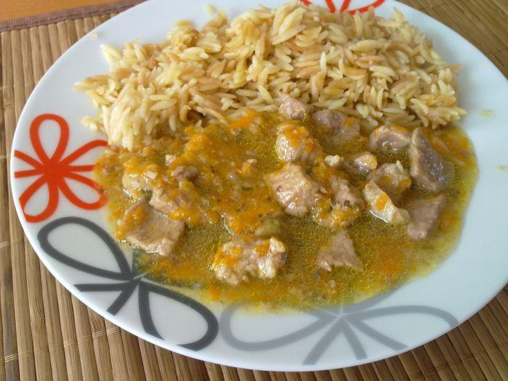 Fotorecept: Bravčové soté so slovenskou ryžou