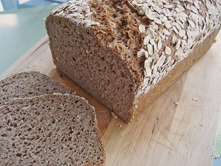 Juicy wholemeal bread