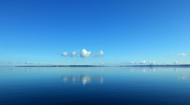 Bramsnaes bay -in Isefjord/Zealand/Denmark