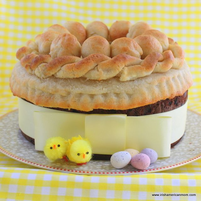 Simnel Cake - and Irish and English Easter baking tradition.