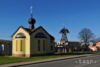 Pravoslávny kostol v obci Ľubica