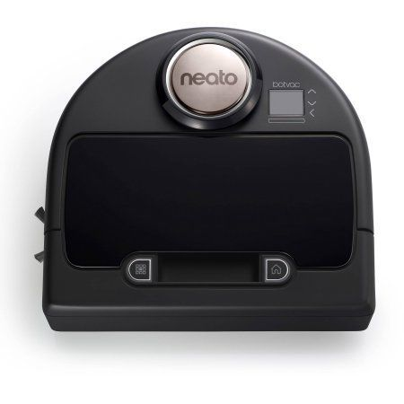 Neato Botvac Connected WiFi Enabled Robotic Vacuum, 945-0177, Black