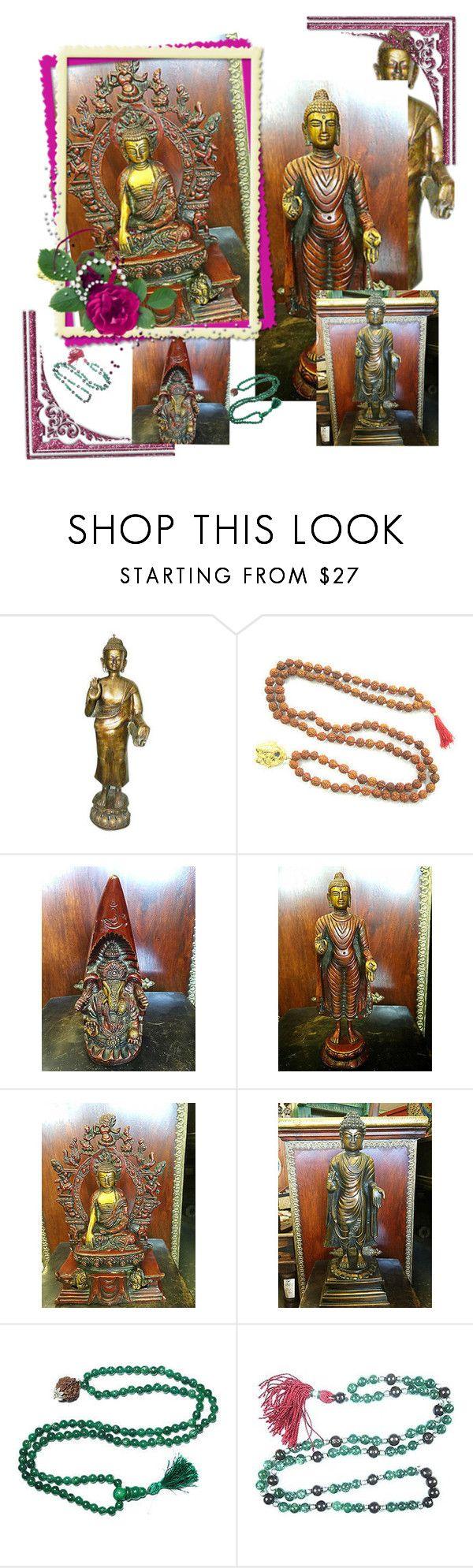 Zen Decor by baydeals on Polyvore featuring interior, interiors, interior design, home, home decor, interior decorating, statue, zendecor, brassstatue and buddhastatue   http://stores.ebay.com/mogulgallery/BRASS-STATUES-/_i.html?_fsub=353416319&_sid=3781319&_trksid=p4634.c0.m322