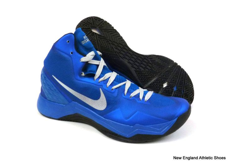nike basketball shoes blue