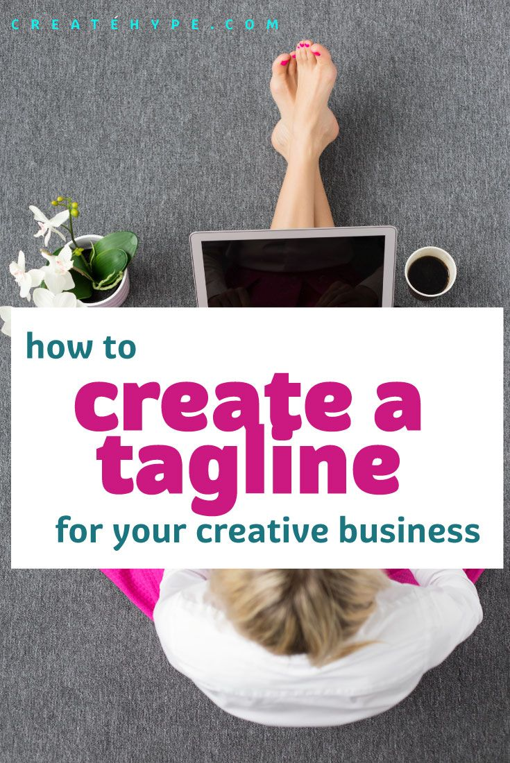 how to create a great tagline