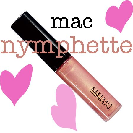 Totally found a dupe for Nymphette... NYX Glam Gloss Aqua Luxe called Beat Goes On. Love!