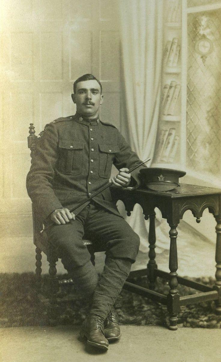 Handsome WW1 soldier