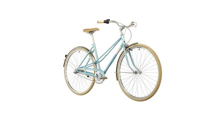 Creme Caferacer Uno - Vélo de ville Femme - 3-speed turquoise