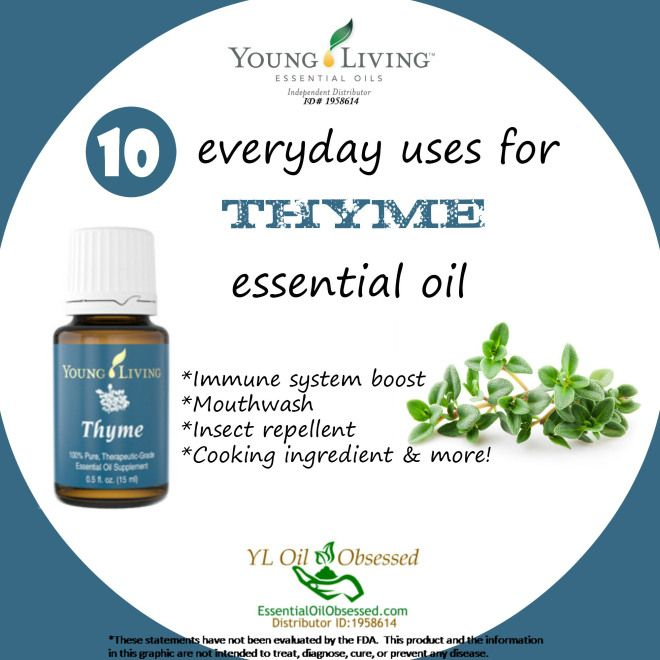 how to take thyme oil