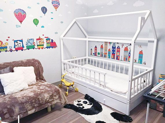KOGA KIDS Each house-bed is handcrafted with care about its future owner's comfort, joy and safeness. While creating a new model or your custom order, our team makes sure that bed is functional, comfortable, safe & beautiful in every detail, such as rounded corners, fence bars and perfect
