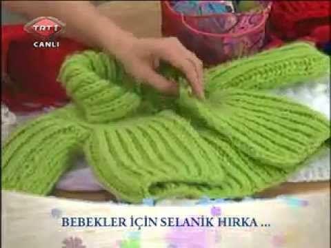 Kolay Selanik Bebek Hırkası Yapılışı, kolay hırka, kız çocuk örgü hırka, basit hırka modelleri | Hatunzade.Com