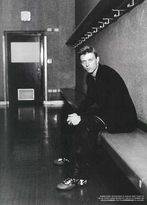 Jon Dahl Tomasson of Denmark.