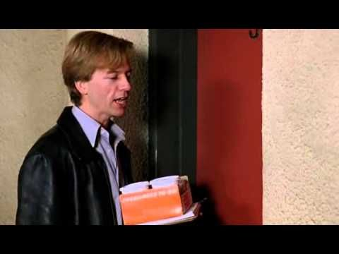 Housekeeping - Tommy Boy. The only proper way to knock on a locked door with someone on the other side.