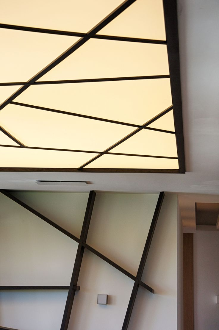 "Penthouse Warsaw, Wilanow - Lamp made by ""W Kwadrat Studio"""