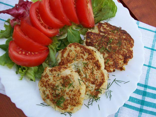 Zdrowe Odżywianie: Kalafiorowe kotleciki