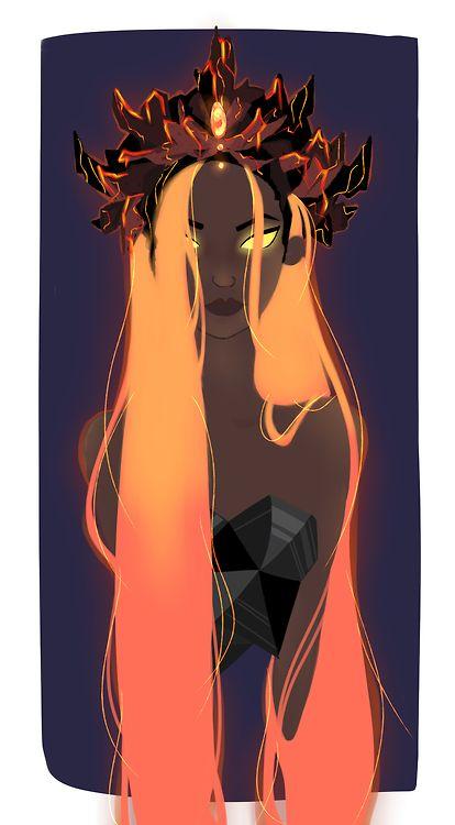 Pele - Hawaiian goddess of volcanoes http://thesnugglebug.tumblr.com/ Gorgeous