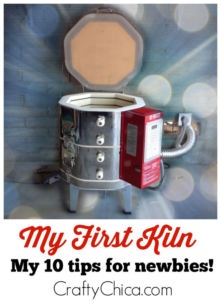 New to kilns? Here are my kiln tips for newbies, based on my first week of owning a Skutt kiln! It's much easier than you think!