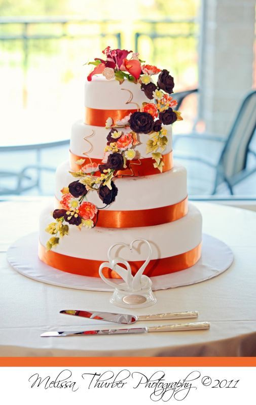 images of fall wedding cakes 11 best images about wedding cakes on orange 16338