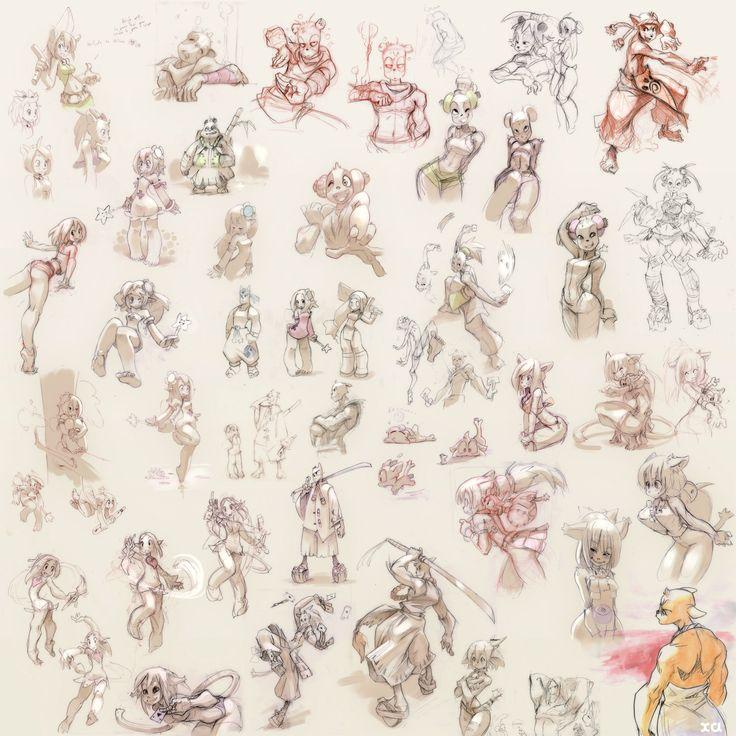 Wakfu-characters-04.jpg (1500×1500)