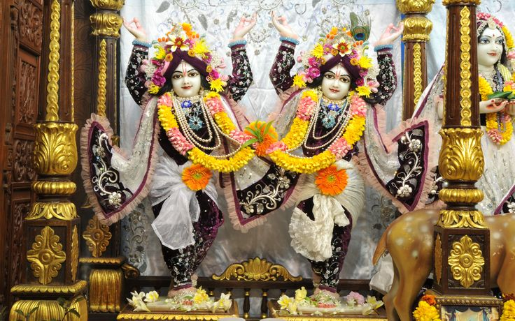 To view Gaura Nitai Wallpaper of ISKCON Chowpatty in difference sizes visit - http://harekrishnawallpapers.com/sri-sri-nitai-gaurachandra-wallpaper-020/