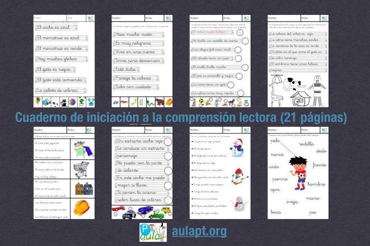 Cuaderno de iniciación a la comprensión lectora (21 páginas)